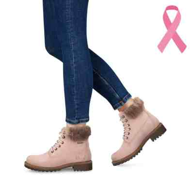 chaussuresonline-rose-bottes-octobrerose-Tamaris-duotex