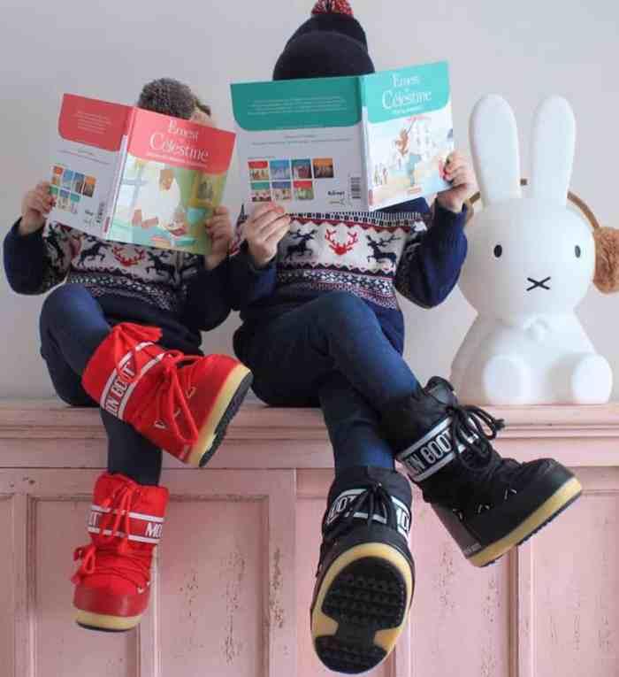chaussuresonline-bottes-enfants-fourré-fille-garçon-nylonkids-hiver-froid-tendance-rose-noir