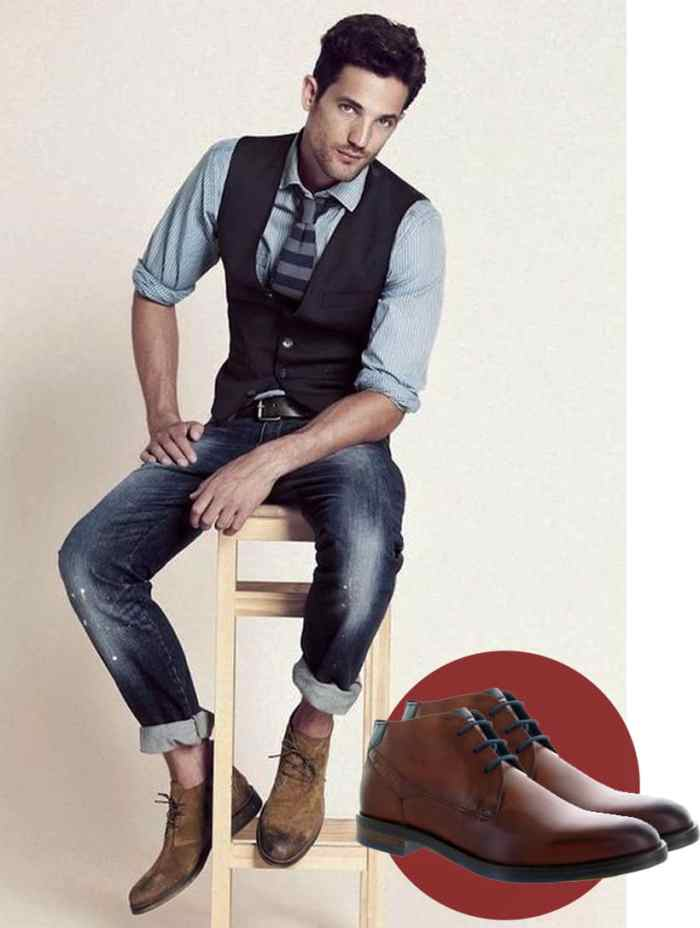chaussuresonline-blogdechiara-bugatti-chaussureshomme-idéeslooks-tendance-mode-chemisejeans-dînerromantique-saintvalentin-couple-amour