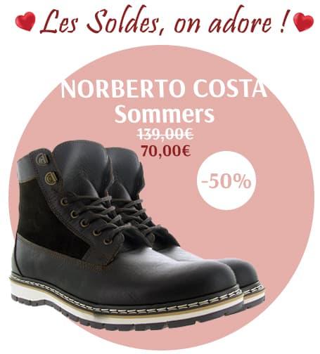 soldeshiver2019-chaussuresonline-chaussuresàlacets-hmme-tendance-idéelook-shopping-promotion-réduction-marronfoncé-bottinehomme-norbertocosta-sommers