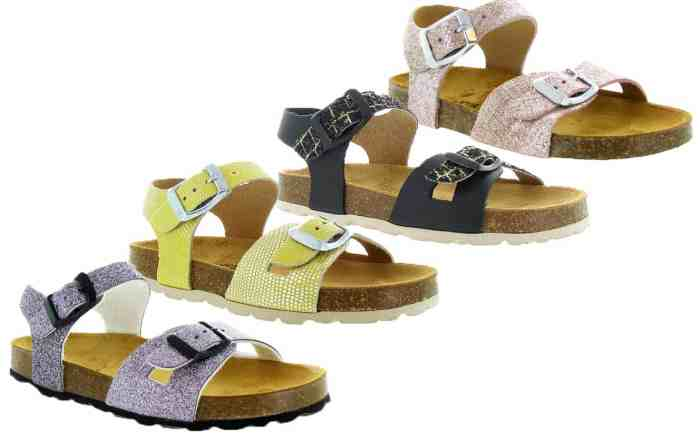 chaussuresonline-tendance-mode-nouvellecollection-fille-sandales-nupieds-plakton-lisa-rose-gri-noir-jaune-semellesanatomiques-été-printemps-2019