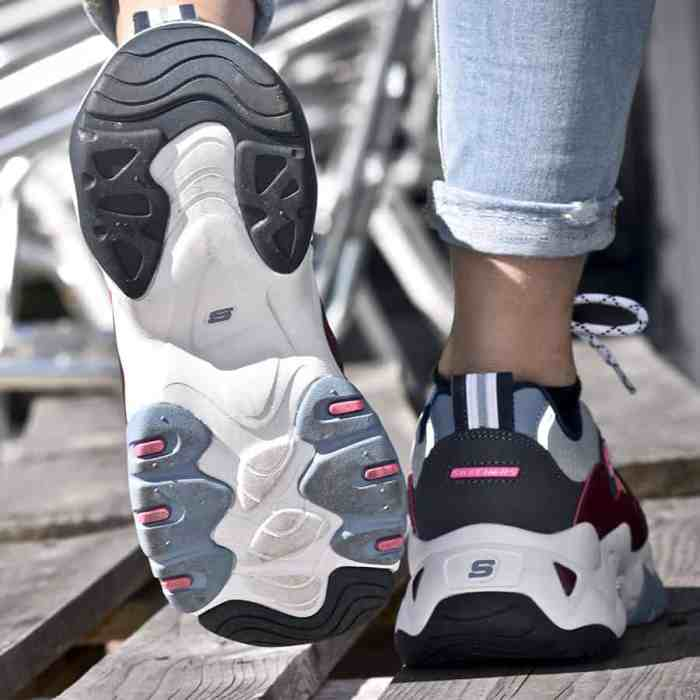 Baskets-Skechers-Dlites