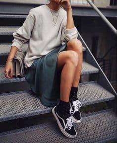 look jupe-baskets - chaussuresonline
