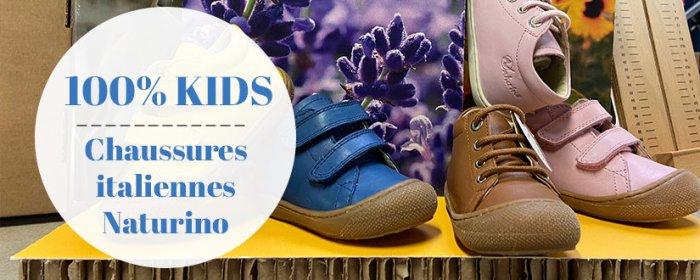 chaussures italiennes pour les enfants : choisissez la marque NATURINO chez Chaussuresonline.com