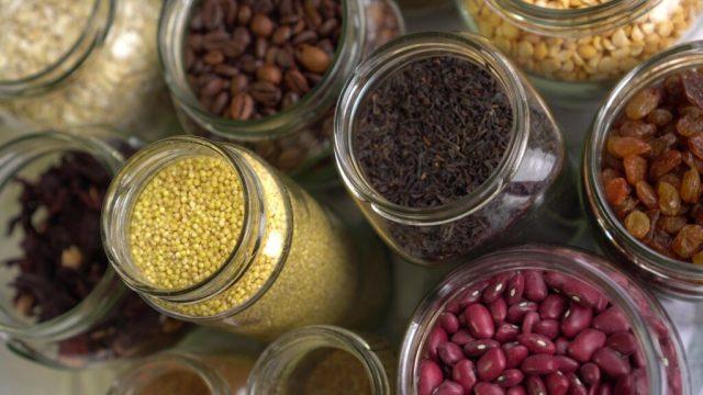 Food Storage in Jars