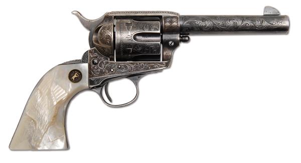 Colt Single Action Army Sheriff's Model Revolver of Legendary Lawman Jeff Milton