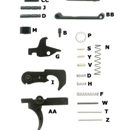 what your ar 15 lower build needs m16a1 parts diagram ar lower diagram [ 600 x 1506 Pixel ]
