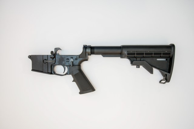 AR-15 complete lower receiver
