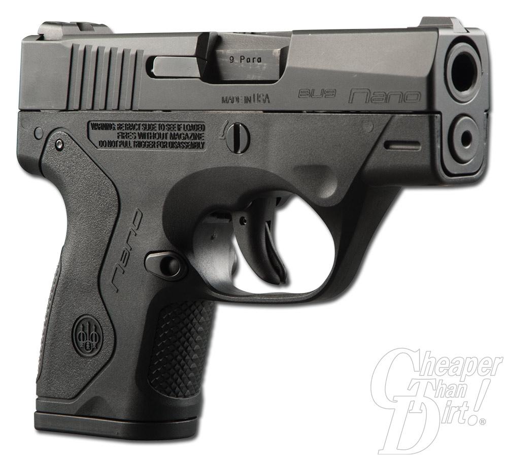 Range Report: the 9mm Beretta Nano