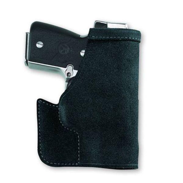 Black Leather Pocket Holster