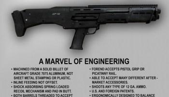 First Look The Dp 12 Double Barrel Pump Shotgun