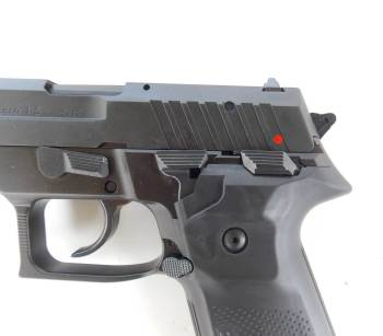 Safety lever on the AREX Rex pistol