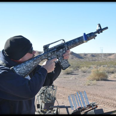We found that the modified 1919 is a lightweight gun with not a lot of hard-hitting recoil.