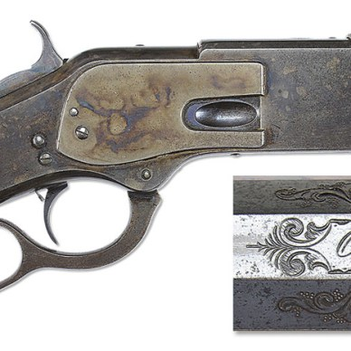 One of One Thousand Winchester Model 1873 Rifle from the Ray Bentley Collection