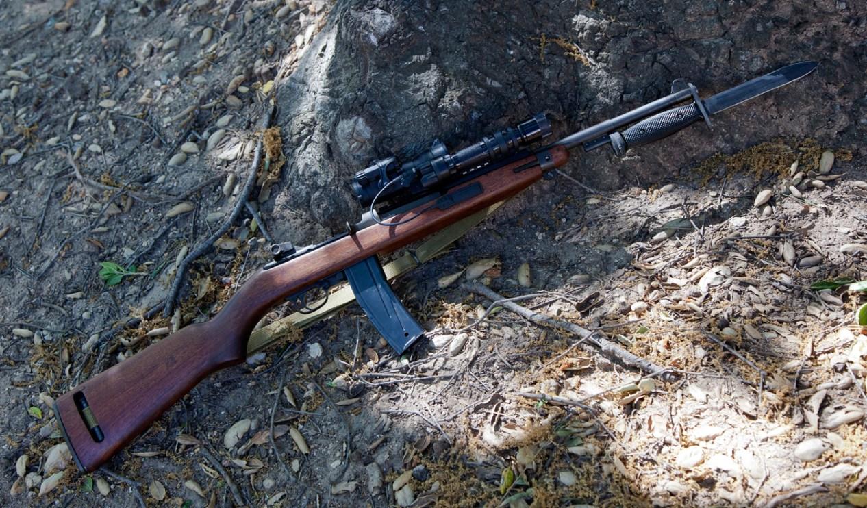 M1 Carbine with scope