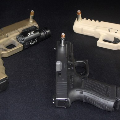 Glock 22s and a Glock 23