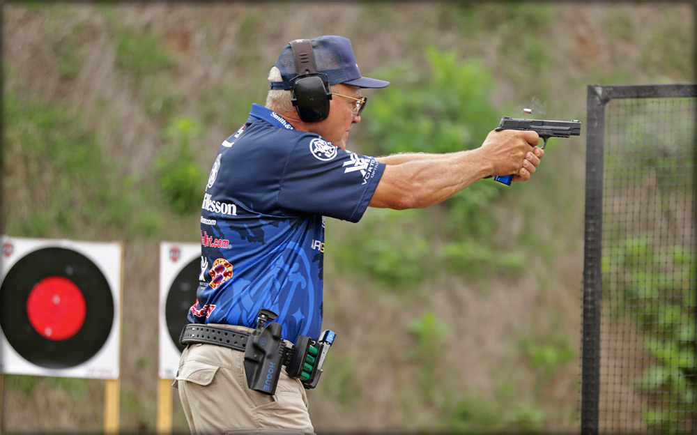 Jerry Miculek wins his second 3GN Open Division Championship.