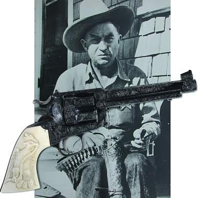 Elmer Keith's Colt SA #5 .44 Special