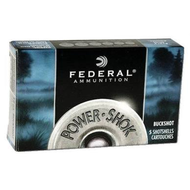 ATK Federal Power Shok Buckshot