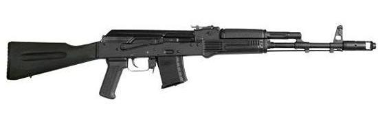 Saiga 12 combat shotguns