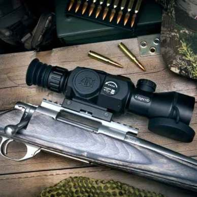 ATN X-Sight II scope on a rifle