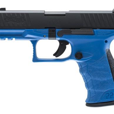 Walther PPQ Blue LEO Training airsoft gun