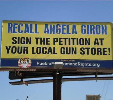 Angela Giron Recall