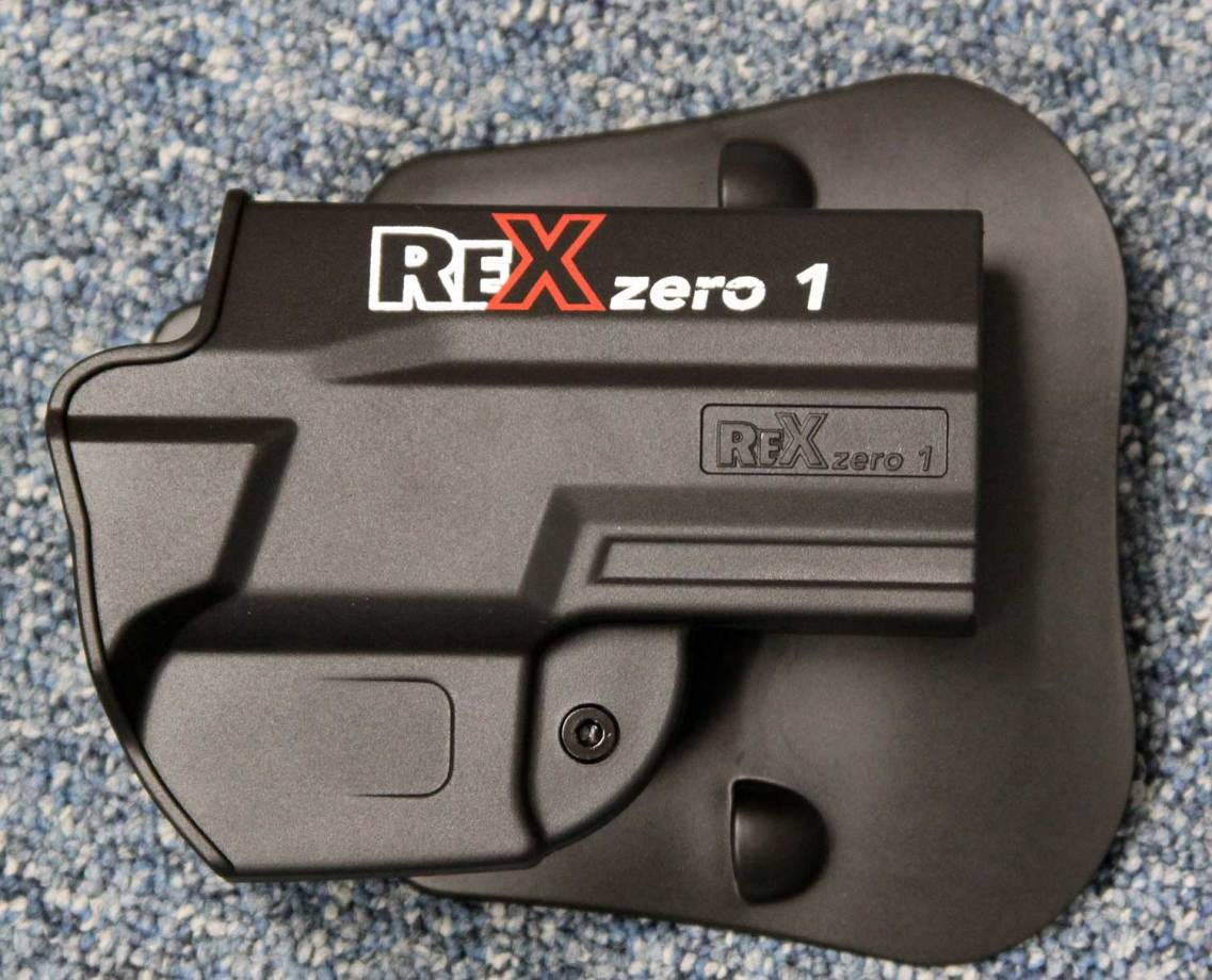 Arex Rex zero one paddle holster
