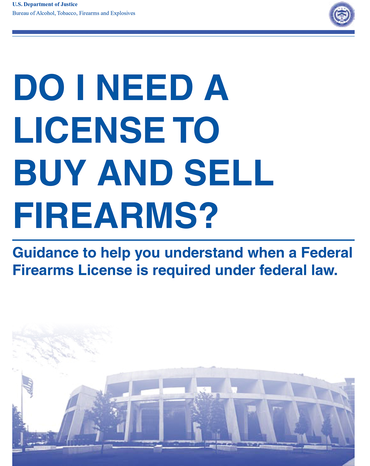 Law Prof New Atf Guidance On Gun Sales Is Legally