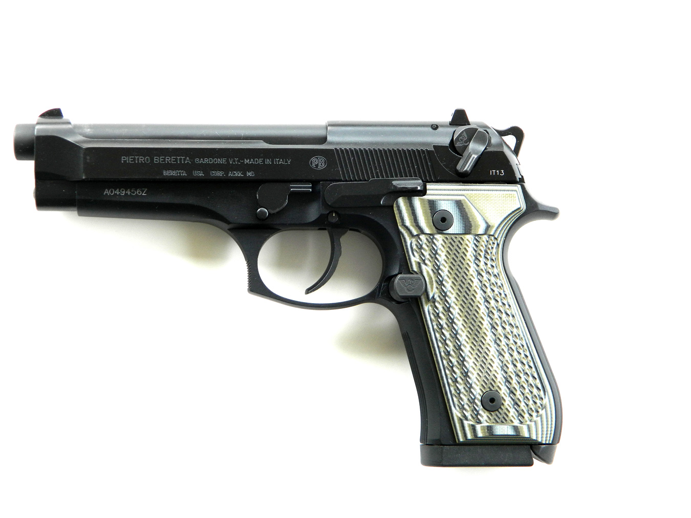Improving the Beretta 92 - The Shooter's Log