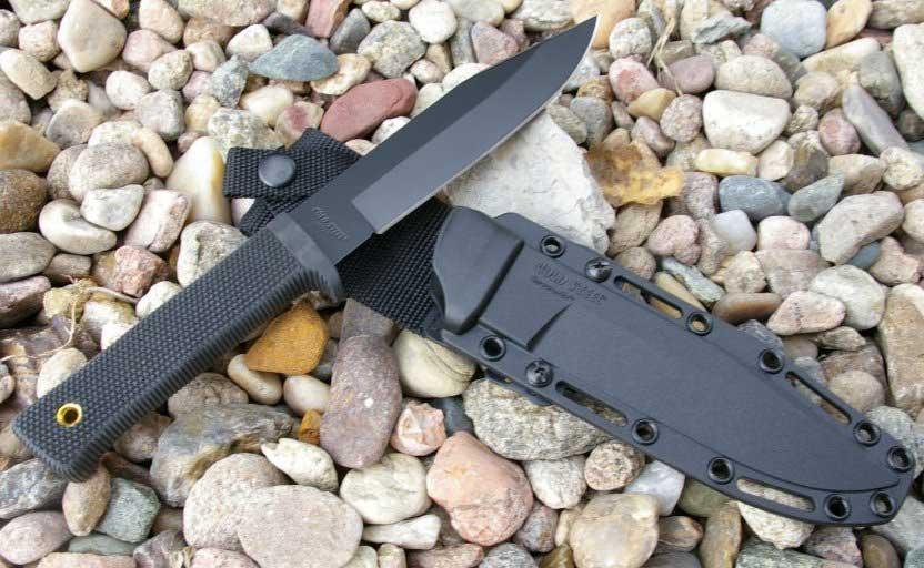 Cold Steel SRK knife on Kydex sheath