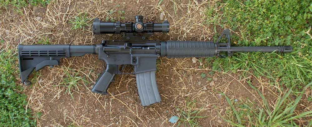 Colt Expanse AR-15 rifle right side