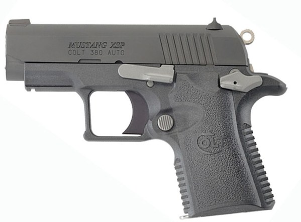Black Colt Mustang .380 pocket pistol