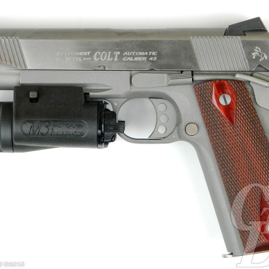 Colt 1911 with M3 Tactical Illuminator
