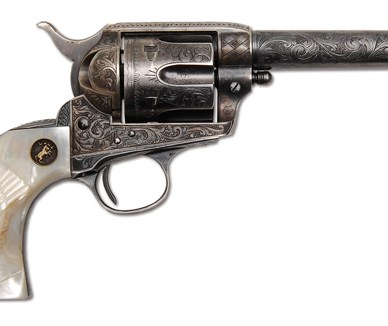 Colt Single Action Army Sheriff's Model Revolver of Legendary Lawman Jeff Milton