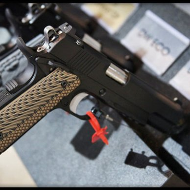 The Specialist is a traditional .45 ACP full-sized 1911.