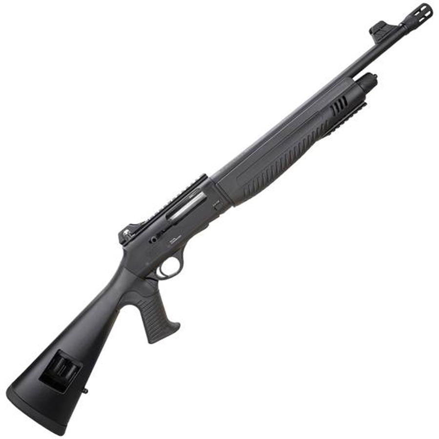 Black synthetic semiautomatic shotgun