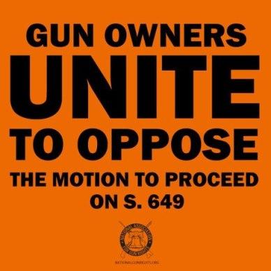 Gun Owners unite, NAGR logo