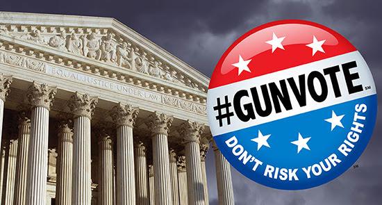 Supreme Court with GunVote logo