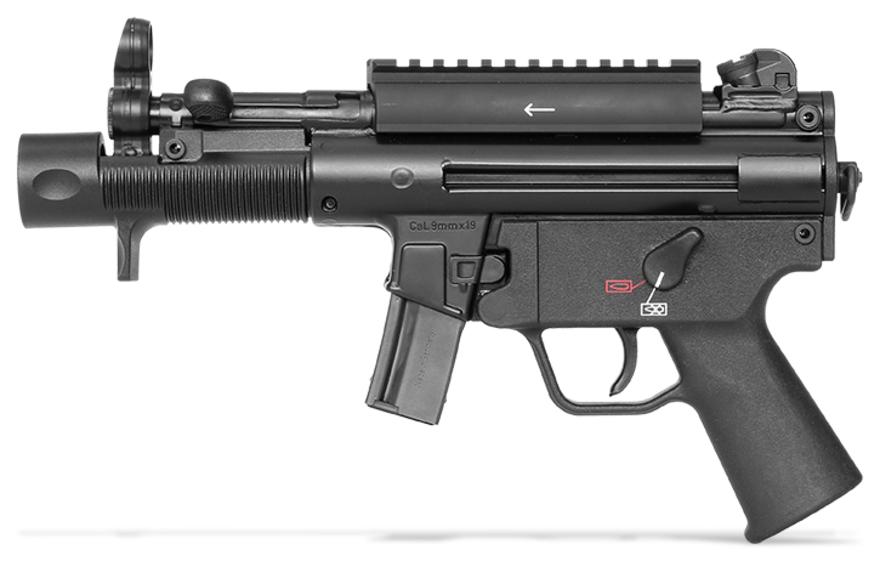 H&K SP5K Pistol left