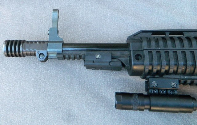 Hi Point Carbine with light attached