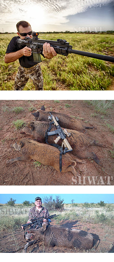 Boar Rifles, Hunting Methods,  Shot Placement (On Hunting Boar Book 2)