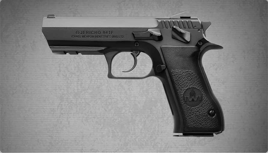 IWI Jericho 941 FS pistol left