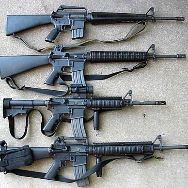 M16A1, M16A2, M4, M16A4