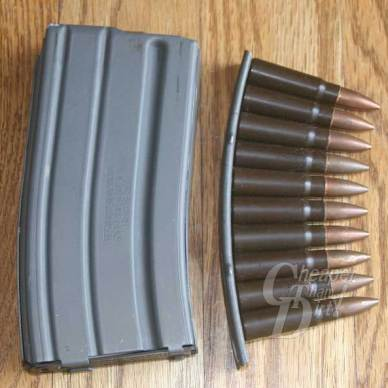 AR-15 Magazine and SKS Clip