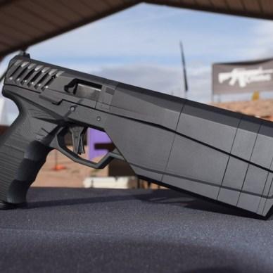 SilencerCo Maxim 9 pistol right side profile