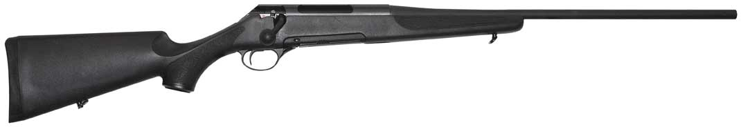 Merkel MHR bolt action rifle with synthetic stock right