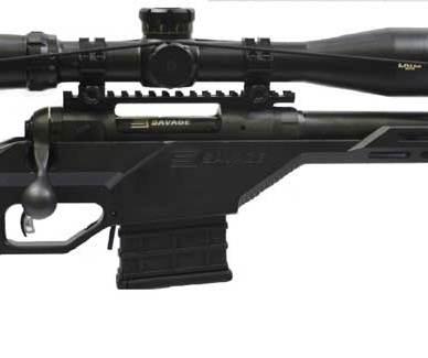 Savage 10 BA Stealth Short Action rifle