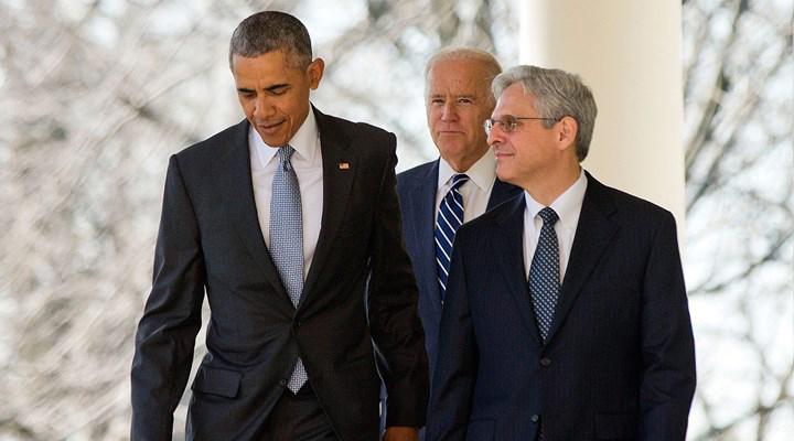 President Obama, Vice President Biden and Merick Garland