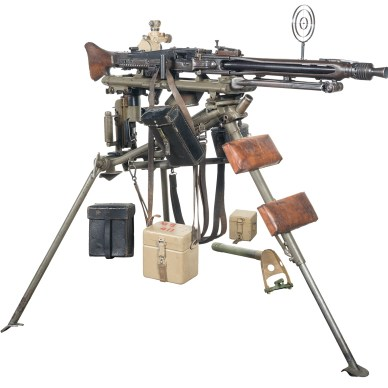 German MG-42 Machine Gun